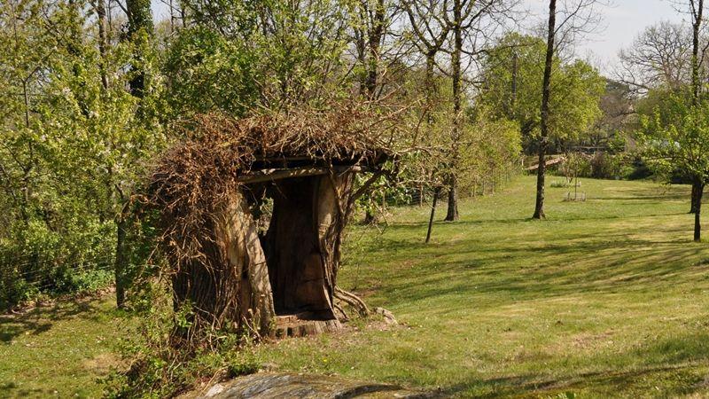 Hond Vriendelijke Tuin : Gîte les sangliers honden welkom omheinde tuin agility grésigne bos